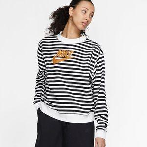 Nike Striped Crew Pullover